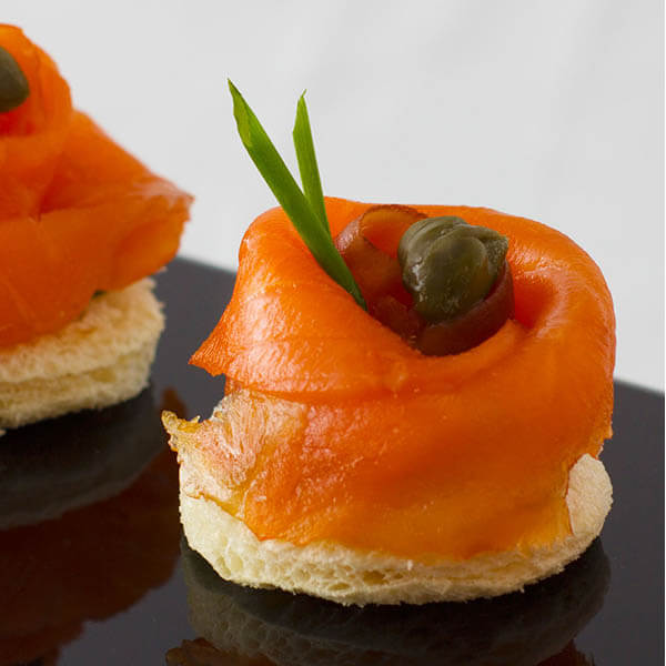 煙三文魚小麥多士 Smoked Salmon Vol Au Vent