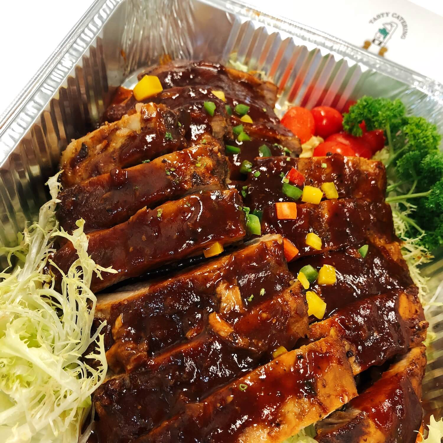 BBQ醬烤豬肋骨 BBQ Baby Pork Back Ribs