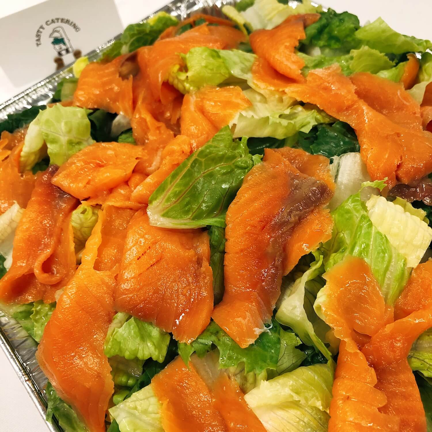 煙三文魚凱撒沙律 Caesar Salad with Smoked Salmon