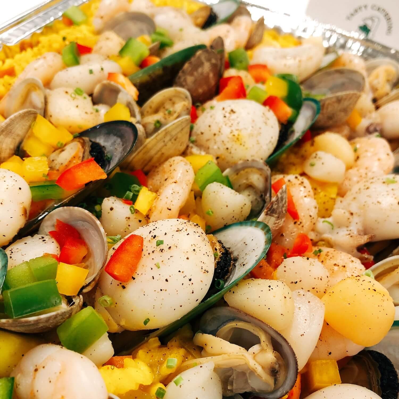西班牙紅花海鮮飯 Spanish Seafood Paella