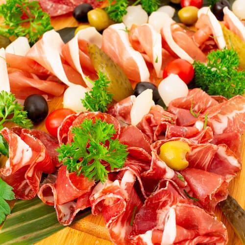 雜錦凍肉拼盤