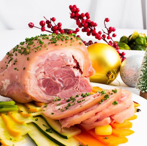 傳統燴德國鹹豬手
